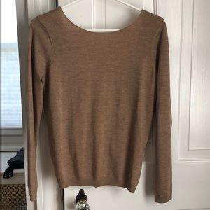 Beautiful open back Sezane sweater